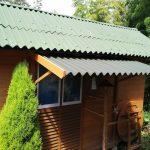 雨除けの屋根を増設